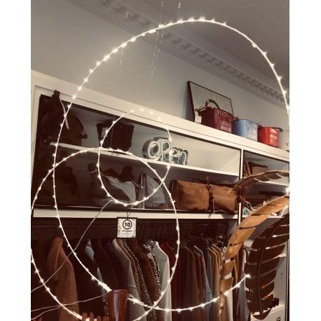 Lámpara aro luces de led grande 25 cm interior y exterior